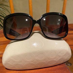 Coach Black Scarlet Sunglasses